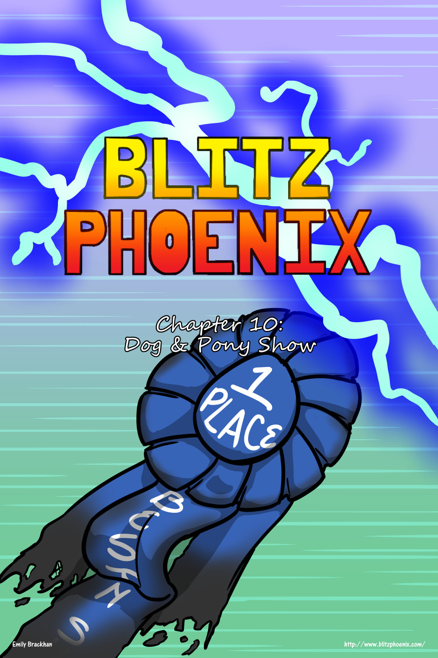 Blitz Phoenix: Chapter 10 - Dog and Pony Show