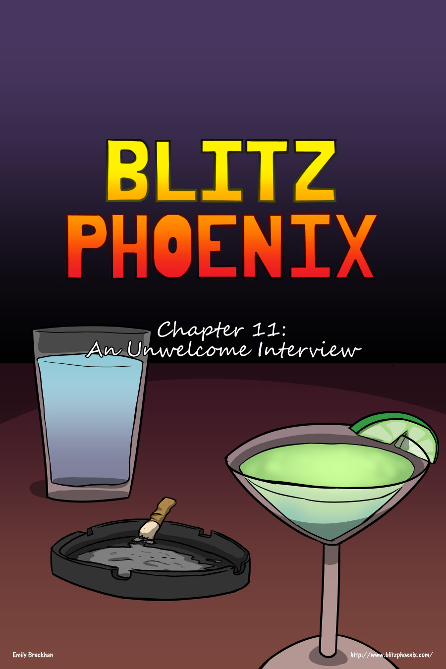 Blitz Phoenix: Chapter 11 - An Unwanted Interview